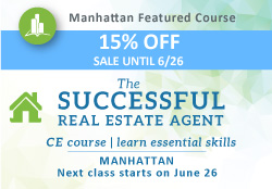 Successful Real Estate Agent -side