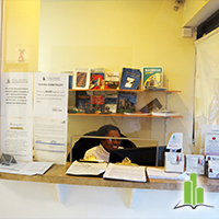 Front Desk at REEDC Brooklyn in Bensonhurst